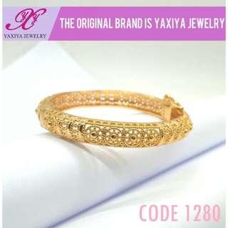 YAXIYA gelang anak lapis emas 18k perhiasan imitasi
