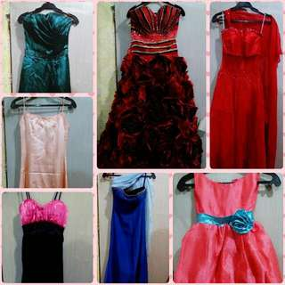 Preloved Gowns for Rent