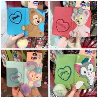 PO Hong Kong Disneyland Duffy, Shelliemay, gelatoni And Stella Lou passport holder