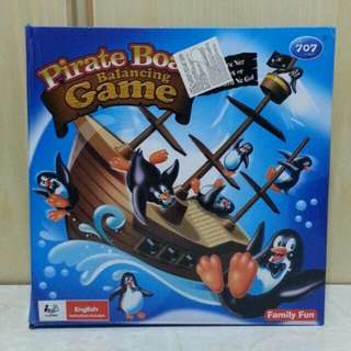 海盜船企鵝仔平衡遊戲