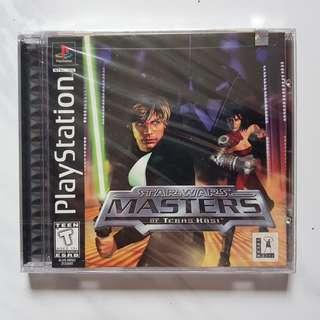PS1 Star Wars Masters of Teras Kasi