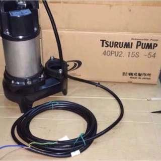 Tsurumi 40PU2.15S for Koi Pump