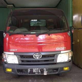Toyota dyna tahun 2012 (mulus)