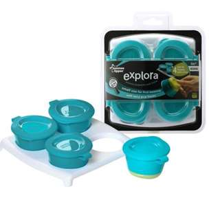 Tommee Tippee Explora Pop Up Freezer Pots & Tray