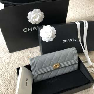 New Authentic Chanel Boy Purse