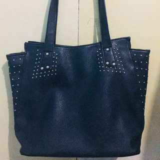 Matte Black Parisian Bag (Authentic)