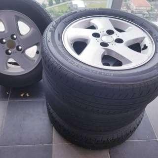 Tyres bridgestone 14inch