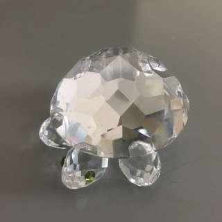 Swarovski 水晶龜 size 約6 x 4 cm
