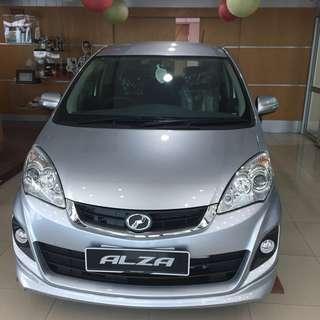 BRAND NEW Perodua Alza S 1.5 (Auto)