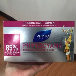 Phytocyane density-volume-shine ampoules