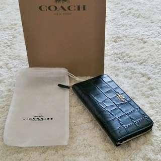 Preloved Authentic Coach Women Wallet (black)