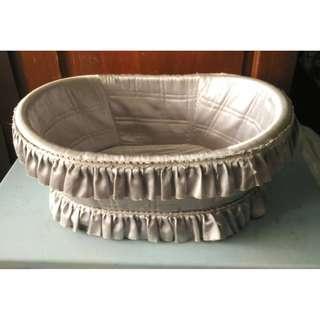 Baby Moses Basket Crib (L.66 x W.48 x H.24cm) * K94 P