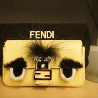Fendi monster micro bag