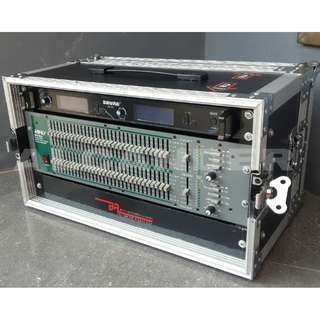 Flight Case, Hard Case, aksesoris, 6U Sound System