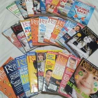 Reader's Digest 2003 to 2011 Issues