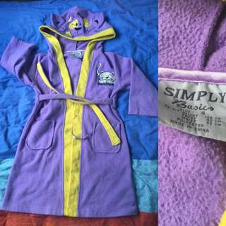 Children Bathrobe Size 4