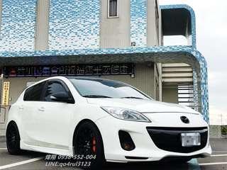09年Mazda3  受夠天冷還要騎車吹風淋雨?歡迎來電讓您免受寒風折磨0938-552-004煒翔