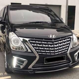 Hyundai Starex 2017 Rental | Sewa