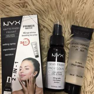 NYX 2 in 1 setting spray and face primer