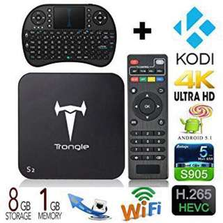 Selling trongle android smart tv