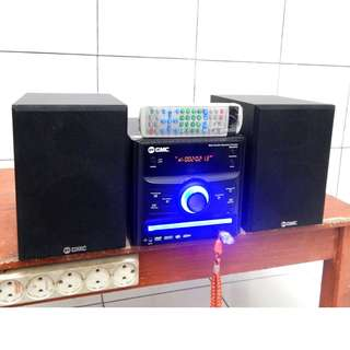 GMC BM-091A Dvd Usb Movie Radio Power Dahsyat Masih SEGEL KATAPANG SOREANG