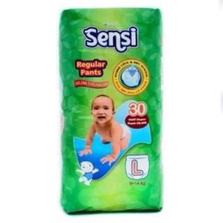 Pampers SENSI size L