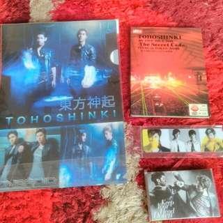 TVXQ Unofficial Merchandise