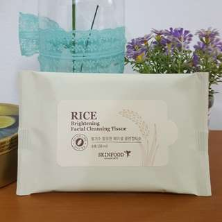 Skinfood cleansing tissue