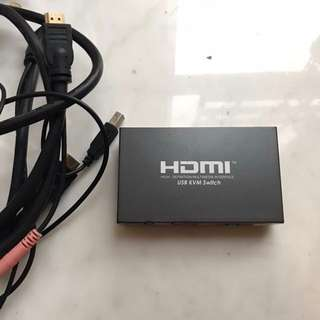 HDMI USB KVM Switch