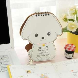 Dog 2018 Calendar