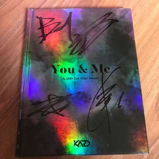 [SIGNED] KARD - YOU IN ME  ALBUM