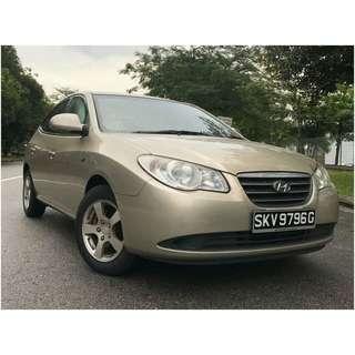 Hyundai Avante 1.5A Fuel economy uber/grab ready !