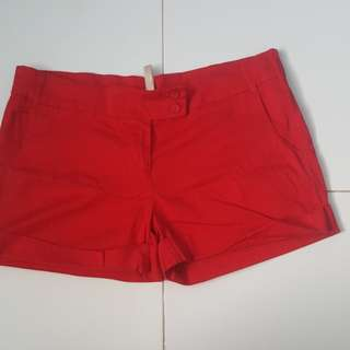 Cotton on shorts black and red.....no boundaries sexy short