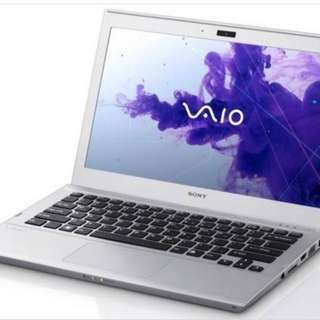 Preloved sony vaio svt1311 (ultrabook)