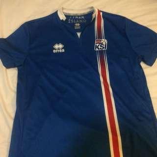 Rare (Iceland football team jersey) jersey bola Islandia