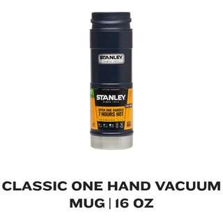 STANLEY CLASSIC ONE HAND VACUUM MUG 16oz NAVY