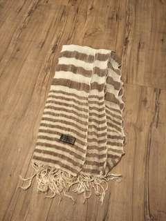 🚚 森林系棉麻圍巾