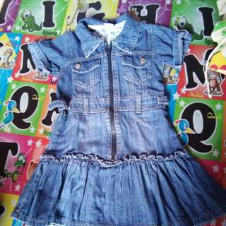 Dress jeans tebal
