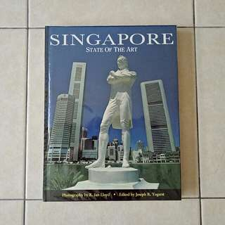 Singapore State Of The Art hard cover page 160 yellow book condition 9/10