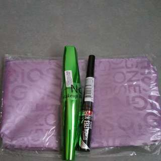 Fast deal $20 Rimmel Mascara and Eyeliner set