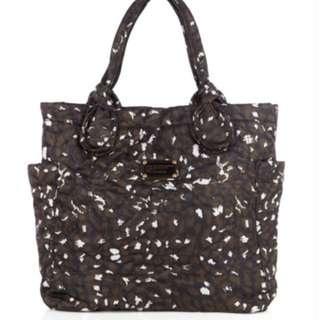Marc jacobs 啡色pattern nylon bag handbag 袋