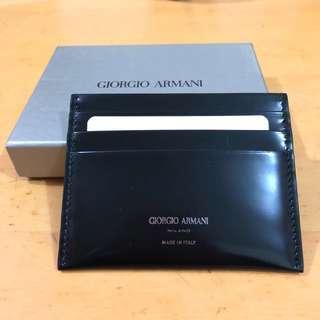 Giorgio Armani 牛皮卡套
