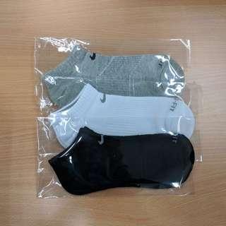 Nike Dri-fit 船襪 - 男裝