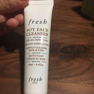 Fresh Soy Face Cleanser (20ml)