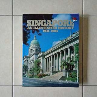 Singapore History1941-1984 soft cover page 397 size 29x23cm book condition 7/10