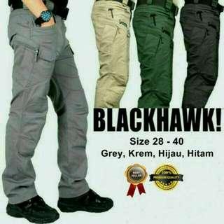 Celana panjang tectical blackhawk