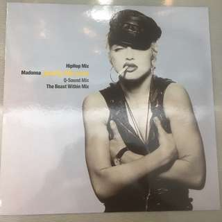"Madonna ‎– Justify My Love, 12"" Single Vinyl, Sire ‎– 7599-21851-0, 1990, Germany"