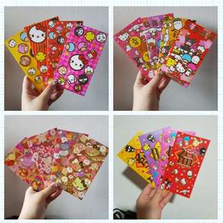 Auth Sanrio red packet ang pao
