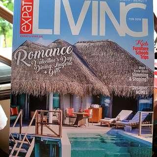 🚚 Expat Living Magazine February 2018 BRAND NEW