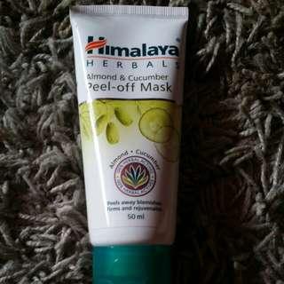Himalayaherbal almond n cucumber peel off mask